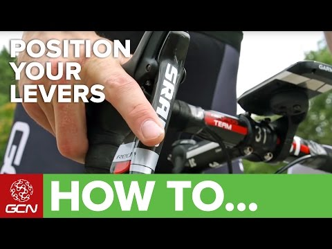 How To Adjust The Reach Of Your Brake Levers – GCN's Pro Tips