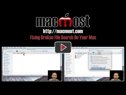 Fixing Broken File Search On Your Mac (#1600)