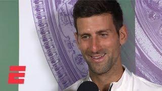 Novak Djokovic on dramatic win vs Roger Federer: 'This match I'll remember forever'   2019 Wimbledon