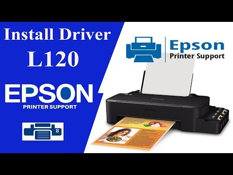 Epson L120 Driver | How to Install Driver Easily