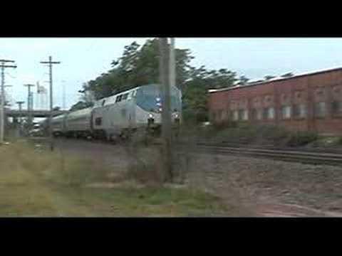 Northbound Amtrak New Haven-Springfield Shuttle