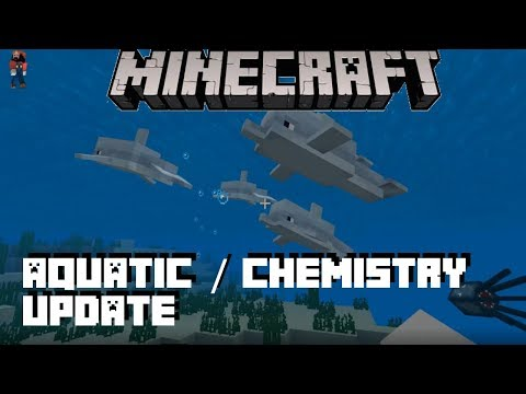 Minecraft Bedrock 1.4 Beta Aquatic / Chemistry Update Review - Windows 10 / Android / Xbox One