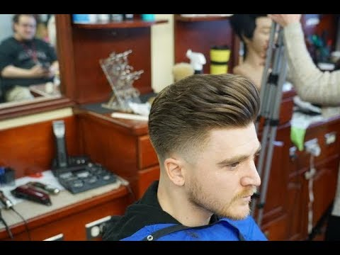 2018 Hairstyle: Low Fade with Pompadour Tutorial