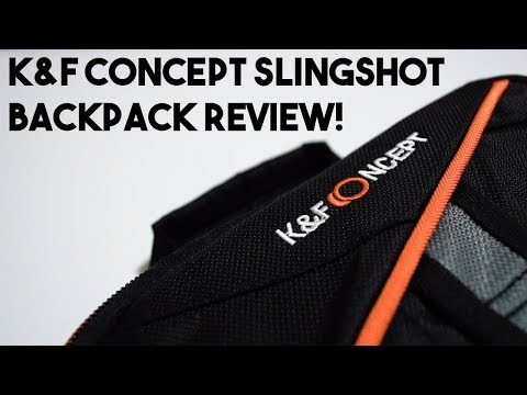 K&F Concept Sling Backpack Review!