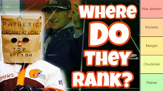 Ranking the Most EMBARRASSING Moments in Cleveland Browns History (Ft. UrinatingTree)