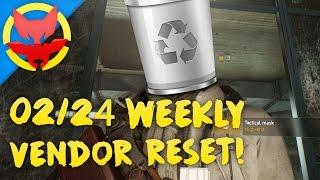 The Division | Weekly Vendor Reset (February 24th) God-Roll Trash, Trash, & More Trash!