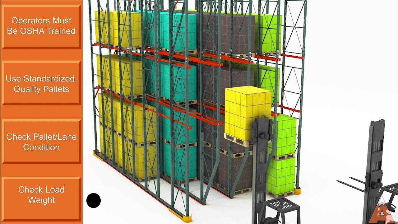 Drive-In Pallet Rack Operational Training Video | Apex Companies