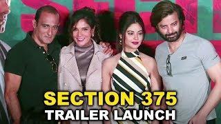 Section 375 Trailer Launch Complete Event | Akshaye Khanna, Richa Chadha | Ajay Bahl
