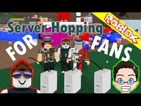 Roblox - Lumber Tycoon 2 Server hopping for fans.