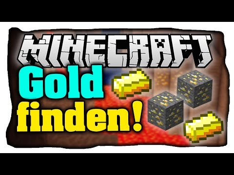 Gold finden leicht gemacht! • Effizient Gold in Minecraft farmen! - Tutorial (Deutsch)