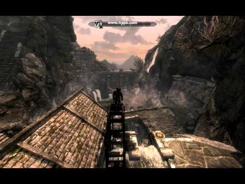 Skyrim: How I pass the time while waiting for shops to open