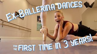 Ex-Ballerina Dances for the 1st Time in 3 Years (ft. Luna Montana)