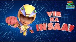 Vir The Robot Boy | Vir Ka Insaaf | Full Movie | Cartoons For Kids | Wow Kidz Movies