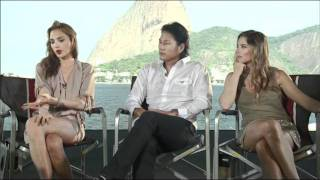 Fast Five - Fast and Furious 5 Rio Heist - Interview - Gal Gadot  Sung Kang and Elsa Pataky -