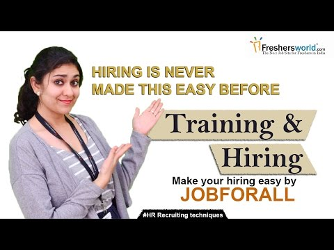 How to hire and provide training to an Employee? II HR Recruiting Tips