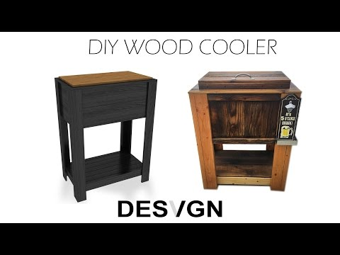DIY Wood Cooler