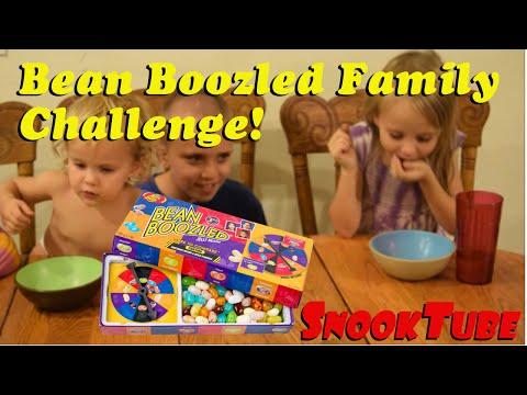 Bean Boozled Family Challenge!