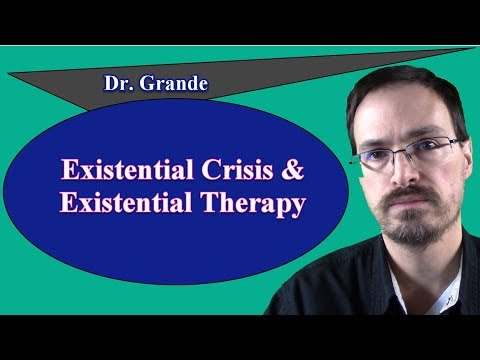 What are Existential Therapy and the Existential Crisis?