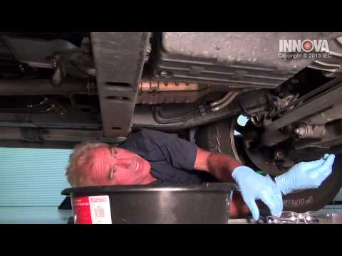 How to change Automatic Transmission Fluid - 2001 Toyota Sequoia