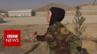 First Afghan female officer off to Sandhurst- BBC News