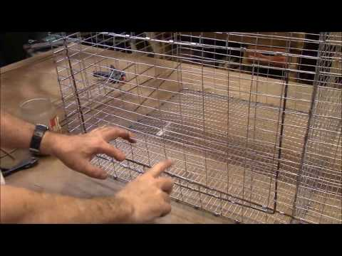 How to Make a Double Chicken/Rabbit Cage