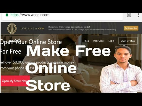 How To Make Free Online Store and Make Money from it | Official Way |