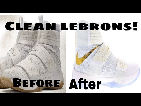 how to clean Lebron james solider 10 straps @Q_iLL