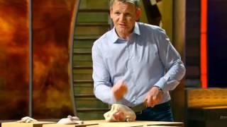 How to cut a whole chicken - Chef Gordon Ramsay in MasterChef US S05E13