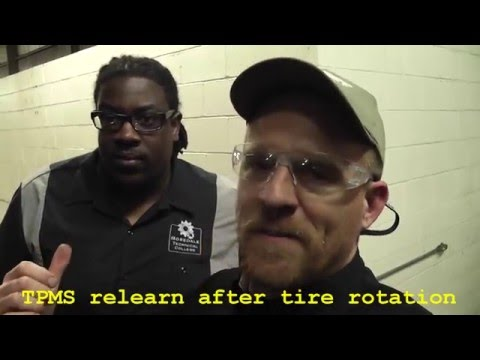How to relearn tire pressure sensors (no tools required) - GM
