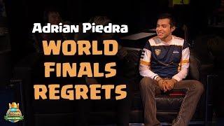 Adrian Piedra Talks About His World Finals Regrets - CCGS World Finals Interview