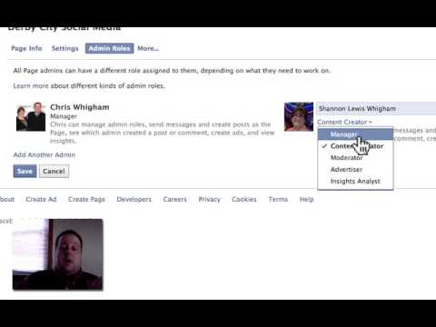 Making Someone a Manager of Your Facebook Page