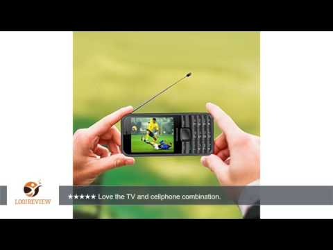 KOCASO Discover TV Cell Phone (Television Feature, Dual SIM, Analog TV Built In, Apps, MP3/MP4 Music