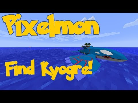 Easiest Way to Find Kyogre! - Pixelmon 3.0.2