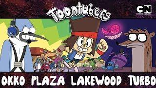 Toontubers Alerta: K.O. Lo Destruye Todo en el Centro de la Ciudad | ToonTubers | Cartoon Network