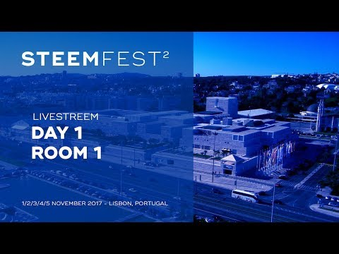 SteemFest² - Conference day 1 - Room 1