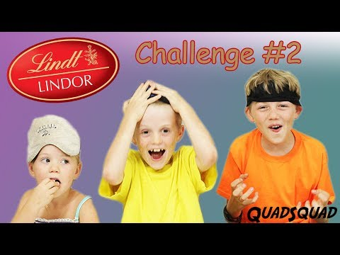 LINDOR CHOCOLATE CHALLENGE!!! (Part 2)