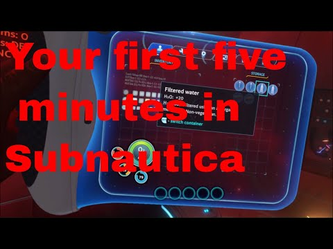 Subnautica : Your First Five Minutes