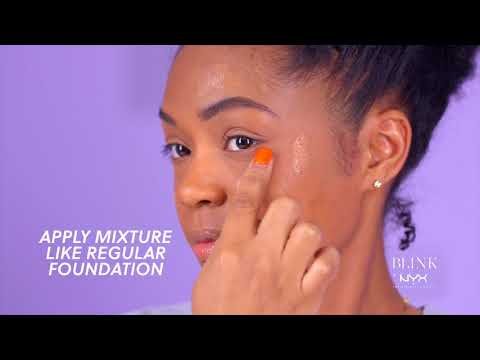 How to Add a Dewy Glow to Matte Foundation