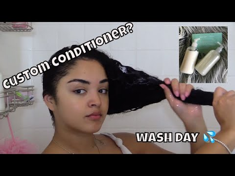 Customizable Shampoo & Conditioner?? -Function of Beauty || testing out hair products