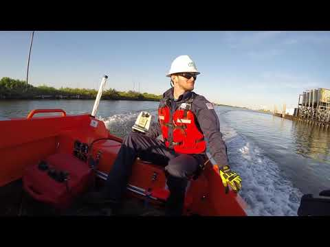 FUNNY!!! outboard motor falls off rescue boat
