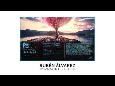 Splash Screen Photoshop CC 2015 - Speed Art - Rubén Álvarez