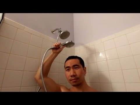 Purelux 4 In Rain Shower Head with Wand Review