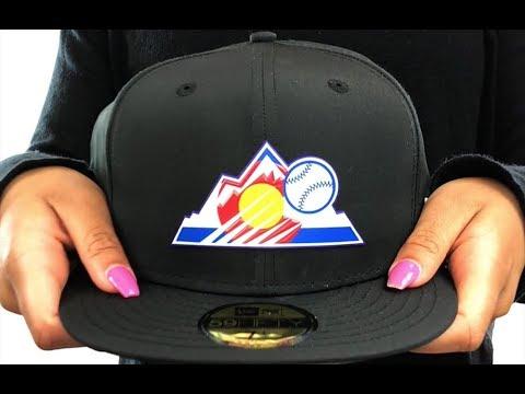 Rockies '2018 PROLIGHT-BP' Black Fitted Hat by New Era