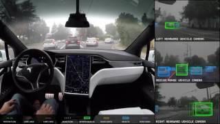 Elon Musk on car