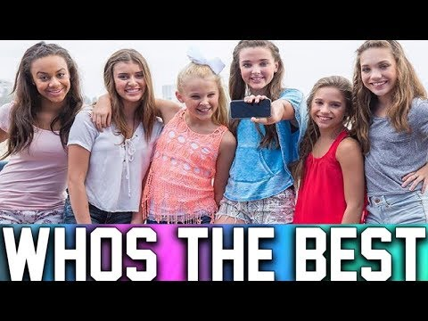 THE DANCE MOMS GIRLS SINGING WITHOUT AUTOTUNE!