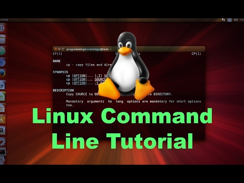 Linux Command Line Tutorial