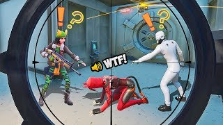 *WORLD'S FIRST* FRIENDLY HENCHMAN!! - Fortnite Funny Fails and WTF Moments! #938