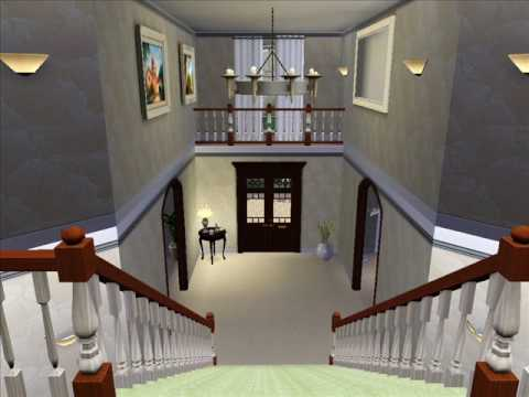 sims 3 huge mansion house beach  big  nice luxury