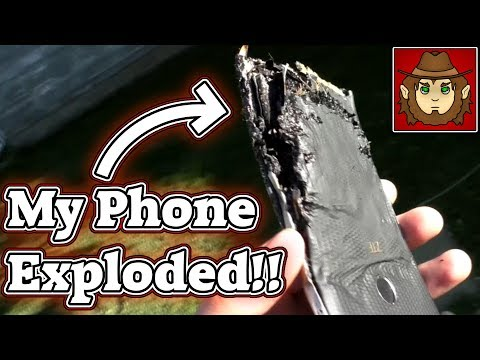 My Phone Exploded While I Was Holding It!! (ZTE Blade Z Max)