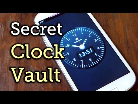 Lock Away Private Photos & Videos Inside a Functional Clock - Samsung Galaxy S3 [How-To]
